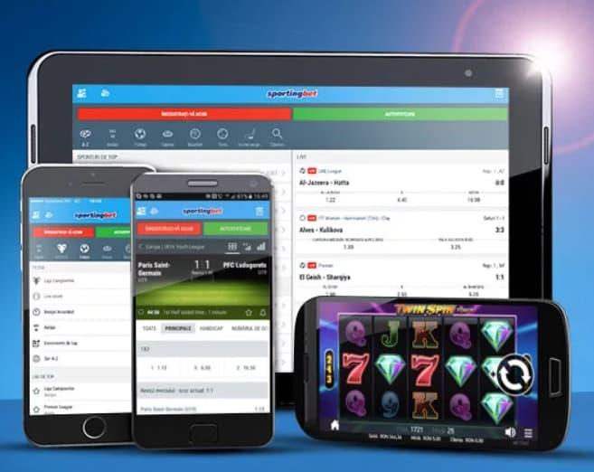 Мобильное приложение Спортингбет