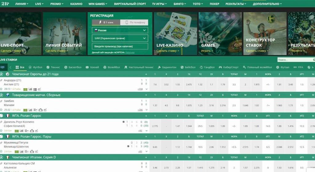 обзор официального сайта бетвиннер